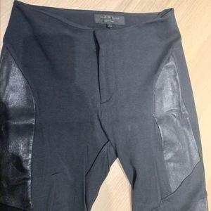 Rag & Bone leather moto legging skinny pant
